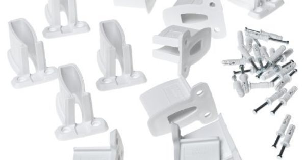 Closetmaid Wall Brackets White 12 Pack 1782 By