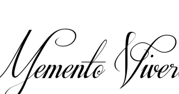 Memento Vivere