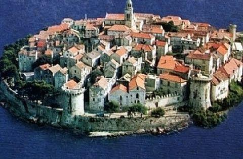 Korcula City Korcula Island Croatia Croatia Island City