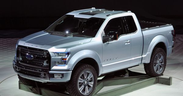 Ford F 150 Atlas Concept Pickup Trucks Ford 2019 Ford