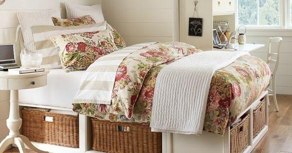 Chambre petite fille en 105 id es de design et d coration - Decoration chambre fillette ...