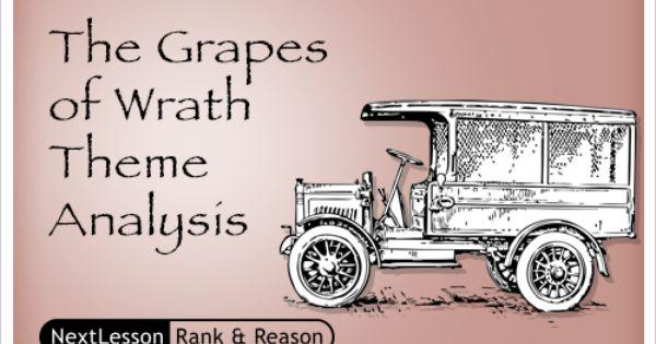 The Grapes Of Wrath Theme Analysis