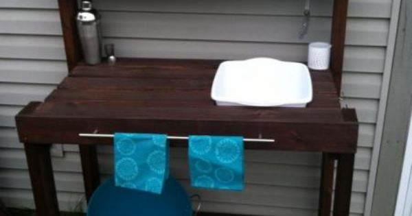 Do It Yourself Outdoor Bar: Do It Yourself Home Projects From Ana White