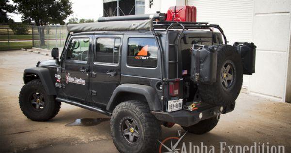 Gobi Jeep Jk Wrangler 4 Door Stealth Roof Rack Jeep Jk