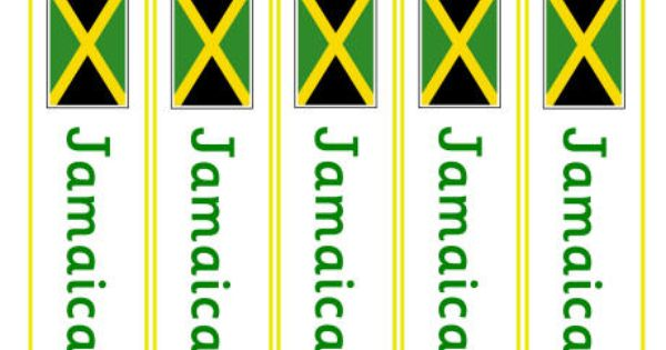 Flags Of Jamaica Coloring Pages For Kids Flag Coloring Pages