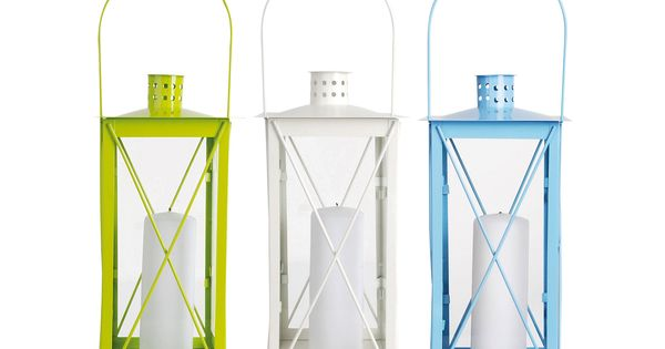 Loving this White, Blue & Lime Russian Flower Lantern Set on zulily!