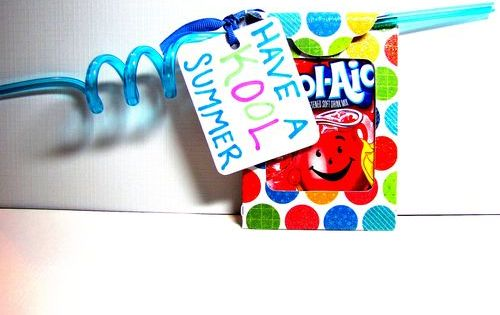 Have a Kool (aid) summer - end of school gift idea