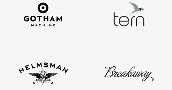 This is an assortment of well designed logos and logotypes created by