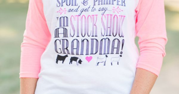 Blessed to be a Stock Show Grandma Shirt - Stock Show ...