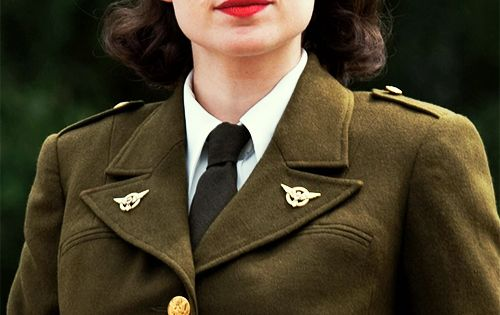 """Gentlemen, I'm Agent Carter. I supervise all operations of this division."" -"