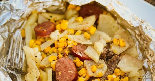 Easy Hobo Dinner Tin Foil Dinner Recipe Hobo Dinners