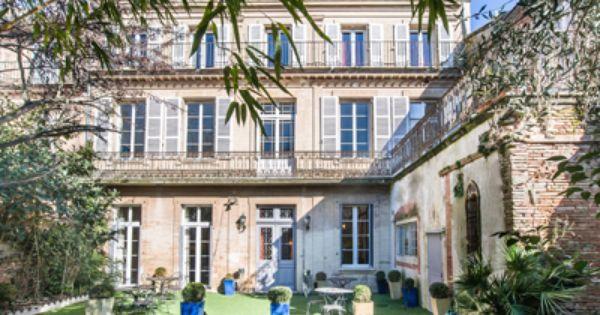 Vente Chambres D Hotes Ou Gite En Midi Pyrenees Maison A Vendre Particulier Maison De Maitre Et Hotel Particulier