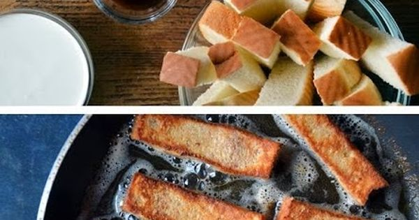 Easy Cinnamon French Toast Sticks recipe mmm maybe could try my kinnikinick