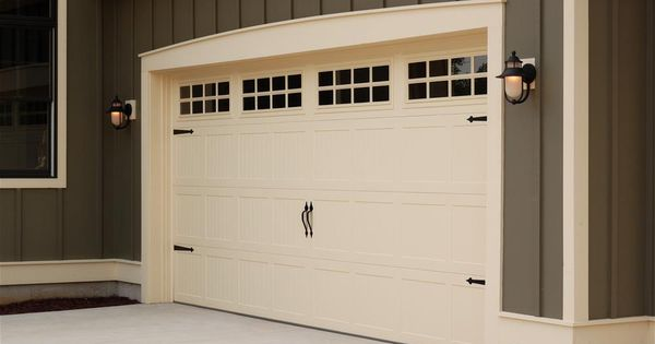 C H I Overhead Doors Model 5251 Steel Carriage House