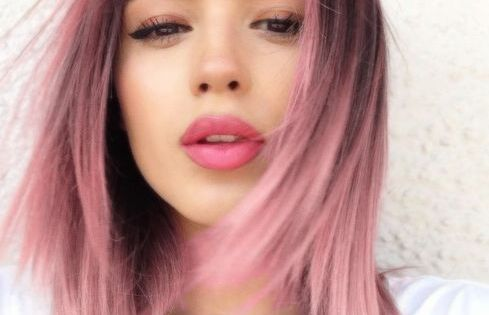 pastel pink rose quartz hair beauty pinterest pastel cheveux rose pastel et cheveux roses. Black Bedroom Furniture Sets. Home Design Ideas