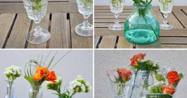Mosaico de arreglos florales para casa pinterest - Adornos florales para casa ...