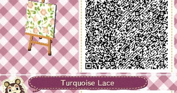 ACNL/ACHHD QR CODEWallLovely floral elegant wallpaper