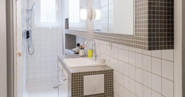 Idée époque toilettes // belle optimisation de l espace ...