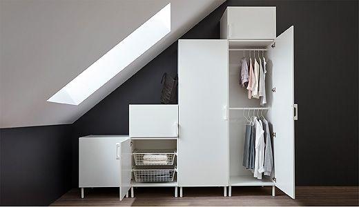 Mobilier Et Decoration Interieur Et Exterieur Dressing Sous Pente Armoire Sous Pente Armoire Penderie