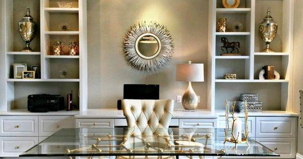 2 desk home office dise o casas y decoraci n for Diseno despacho casa