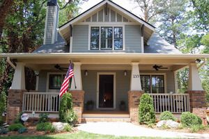 Craftsman Style House Plan 3 Beds 2 Baths 1260 Sq Ft Plan 461 4 In 2020 Craftsman Style House Plans Craftsman House Plans Craftsman Bungalow House Plans