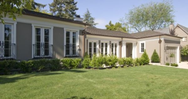 Classic ranch style home home exterior pinterest for Classic ranch homes