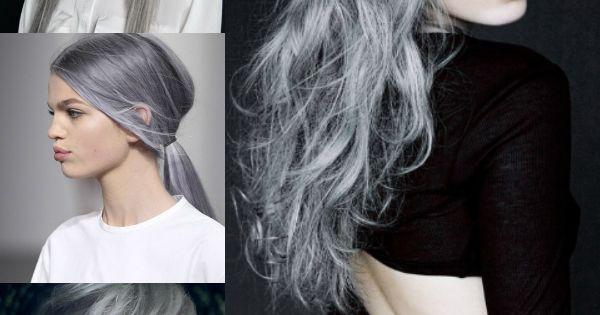 lange silberne graue frisuren haar extensions hair pinterest graue frisuren haar. Black Bedroom Furniture Sets. Home Design Ideas