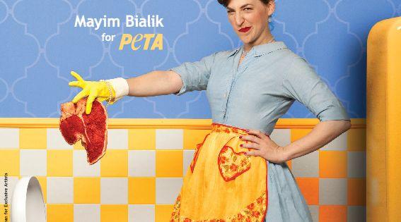 """""""Big Bang Theory"""" star and fellow vegan Mayim Bialik has banged together"""