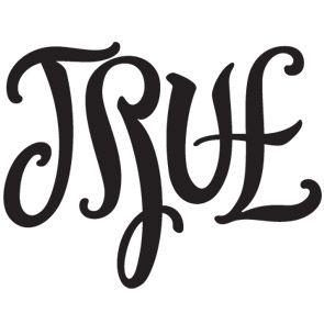 True False Ambigram By John Langdon Ambigram Ambigram Tattoo
