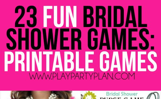 23 More Funny Bridal Shower Games That Don't Suck