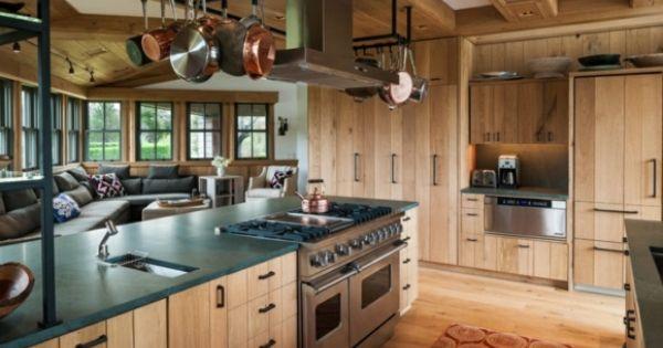 D coration cuisine campagne accueillante et chaleureuse cuisines rustiques modernes d co de - Deco cuisine chaleureuse ...