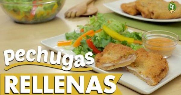 comidas faciles y nutritivas receta del d a unas deliciosas pechugas rellenas de jam n