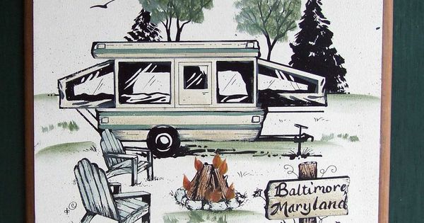 Travel Trailer RV Camper PERSONALIZED Camping Sign Weatherproof Great GIFT. $32.00, via