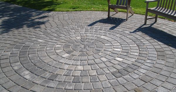 Circle Paver Patio Kits Weilbacher Landscaping