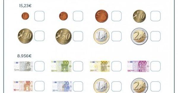 Fichas Para Imprimir Para Niños De Primaria Fichas Actividades De Dinero Fichas De Matematicas