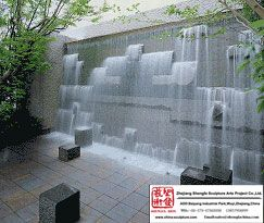 Outdoor Water Fall Stone Wall Fountain Fountains Outdoor Water Walls Water Feature Wall