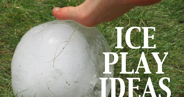 Ice Play ideas for summer fun