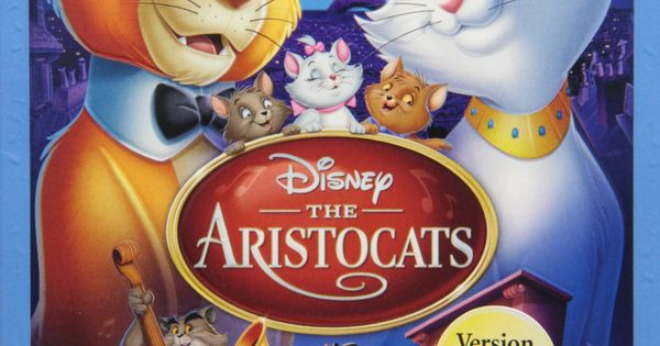 The Aristocats Two Disc Blu Ray Dvd Special Edition In Blu Ray
