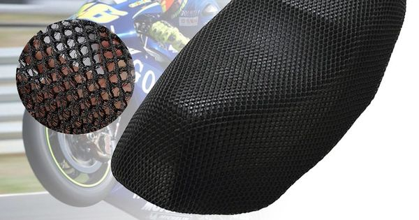 Motocykl Pokrycie Siedzenia Oddychajaca Izolacji Poduszki Ochrony Przeciwslonecznej Pad Ciepla Protector Netto Dla Skuterow Honda Yamaha Vespa Akcesoria Searc Bike