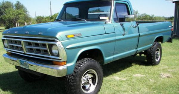 Original Classic Ford Truck Photos 1971 Ford F250 Ford Trucks For Sale Old Trucks Antique Trucks Classic Ford Trucks Trucks Ford Trucks