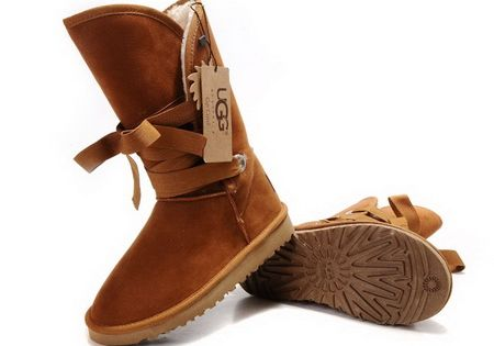 Chestnut UGG Boots Roxy Short 5828 Outlet Store
