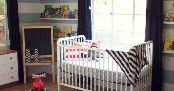 Modern Baby Boy Nursery. Modern Baby boy nursery. modern sleek baby boy
