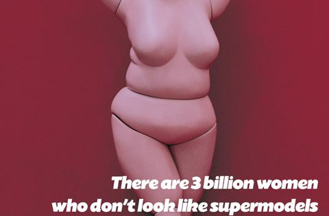 This was an ad made by bodyshop. but Barbie INC found out