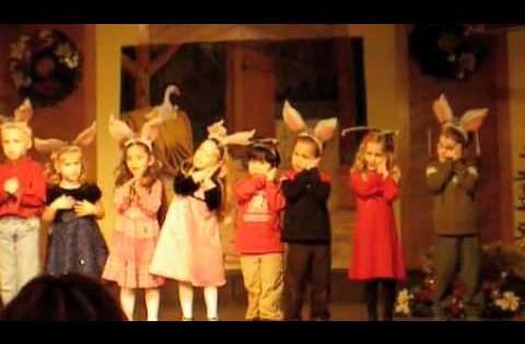 Joyful Noises Christian Preschool Christmas program ...