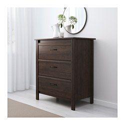 tiroirsbrunLes à tiroirs IKEA BRUSALICommode 3 kZuOPiTX
