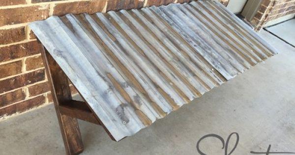 Diy Corrugated Metal Awning Metal Awning Vent Hood And