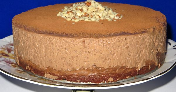 Low Fat Celebration Cake Recipes: Chocolate Hazelnut Mousse Cake