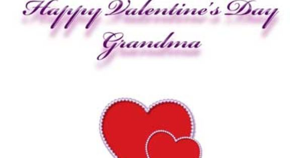 Valentines Day Quotes For Grandma: Free Printable Valentine's Day Card For Grandma