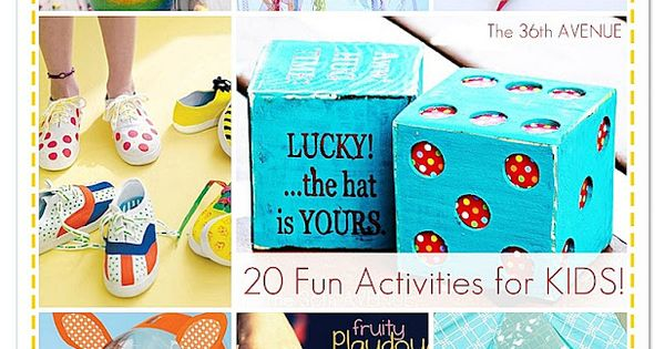 The 36th AVENUE | Summer Kid's Backyard Game