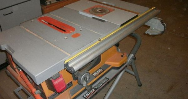 Adding A Router To A Ridgid Ts2400ls Portable Table Saw